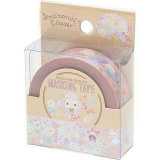 (分裝)日本san-X 憂傷馬戲團 夢羊 紙膠帶