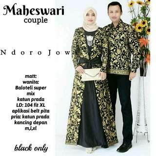 Muslimah Dress Couple Set