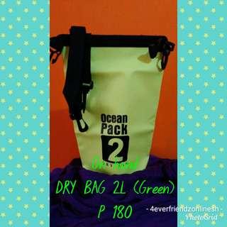 Dry bag 2L (green)