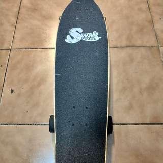 SWAG台灣品牌 滑板 竹板
