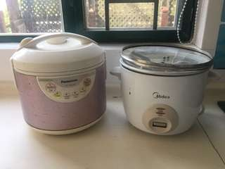 飯煲 rice cooker $100 兩個