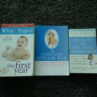 Baby, Sleep training books