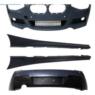 BMW F20 1 Series M Performance Bodykit, PP Material.