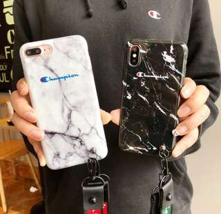 Marble Champion Phone Casing