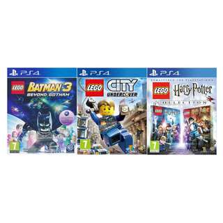 PS4 LEGO TITLES 2 @ $69