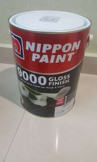 Nippon 9000 Gloss paint for Metal / Wood