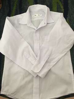 White long sleeve great for graduation