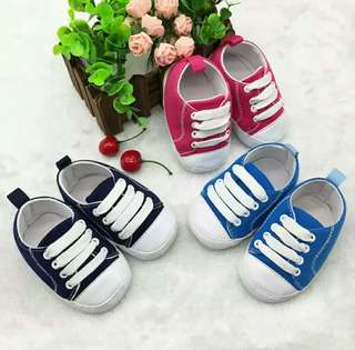 🍀Baby Boy Girl Soft Soled Anti-slip Canvas Shoes🍀