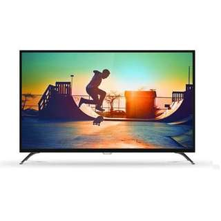 """Philips 43"""" 108cm Black Ultra Slim 4K Ultra HD LED UHD Smart TV with ISDB Digital Tuner 58PFT5309S/98 (2 Years Local Official Warranty)"""