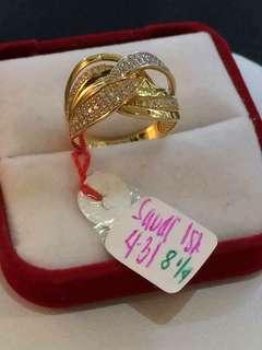 18K SD GOLD RING