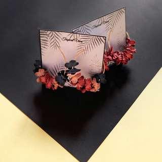 NEW! Fleur Earrings (Mix / Red Flowers)