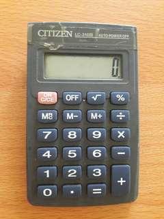 Preloved Kalkulator Kecil ABu2