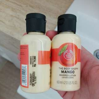 The Body Shop MANGO Whipped Lotion