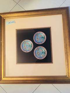 Peranakan Plates Picture Frame