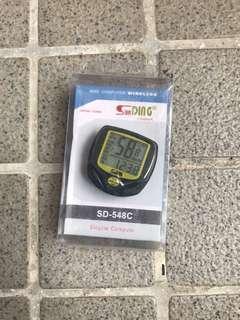Wireless digital speedo meter