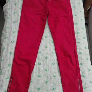Red Pants slightly used