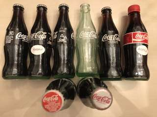 Glass Coke Bottles (Australia)