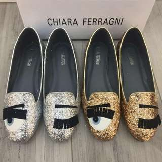 Chiara Ferragani Big Eye Shoes