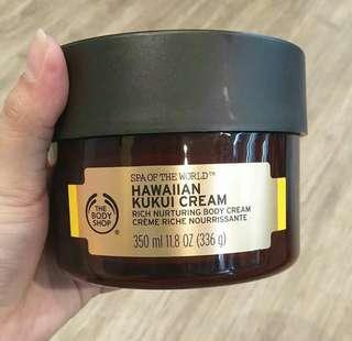 Hawaiian kukui cream