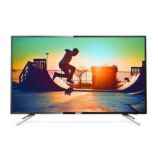 """Philips 50"""" 108cm Black Ultra Slim 4K Ultra HD LED UHD Smart TV with ISDB Digital Tuner 58PFT5309S/98 (2 Years Local Official Warranty)"""