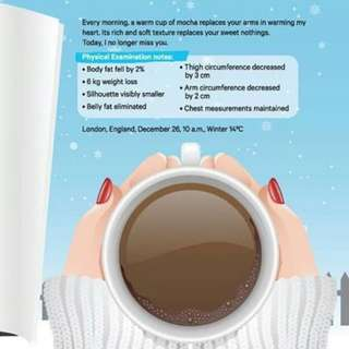 Winter December Mocha of Love ( Diet Drinks)