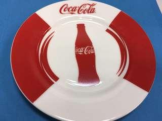 可口可樂瓷碟一對