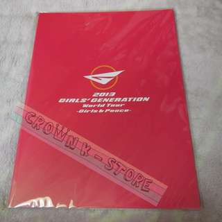 [CRAZY DEAL 80% OFF FROM ORIGINAL PRICE][READY STOCK]GIRLS GENERATION SNSD KOREA 2013 CONCERT OFFICIAL BROCHURE SEALED! NEW! OFFICIAL ORIGINAL FROM KOREA (SELAED) (PRICE NOT INCLUDE POSTAGE)PLEASE READ DETAILS FOR MORE INFO