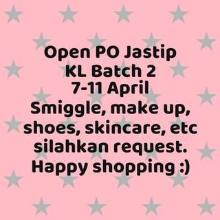 Jastip KL Batch 2 Last Order 10 April