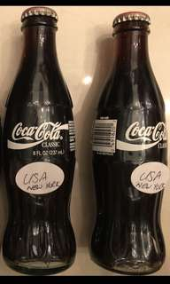 Glass Coke Bottles (United States)