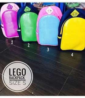 Lego backpack saiz S