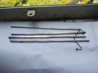 純銀筷子2對