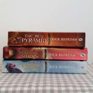 English Storybook by Rick Riordan