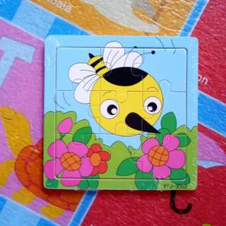 (BNEW) Bee Wooden Puzzle