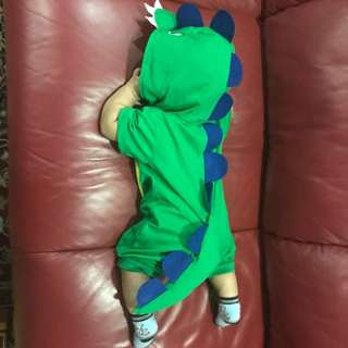 Dinosaur baby outfit