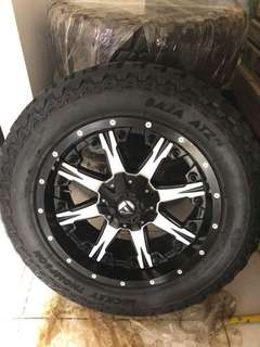 FUEL NUTZ w/ Mickey Thompson Baja atz tires