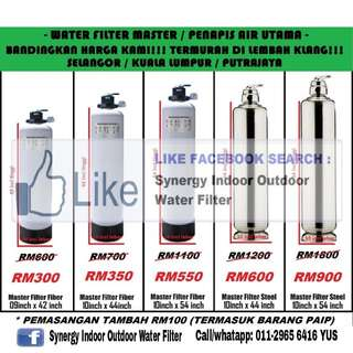 Water Filter / Penapis Air