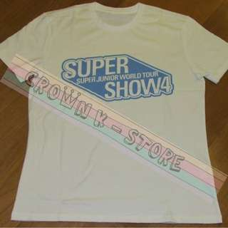 [CRAZY DEAL 90% OFF FROM ORIGINAL PRICE][READY STOCK]SUPER JUNIOR KOREA OFFICIAL TSHIRT M SIZE! NEW! OFFICIAL ORIGINAL FROM KOREA (SELAED) (PRICE NOT INCLUDE POSTAGE)PLEASE READ DETAILS FOR MORE INFO