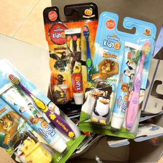 Kodomo Tooth brush&paste 2in1 pro kids 6thn keatas