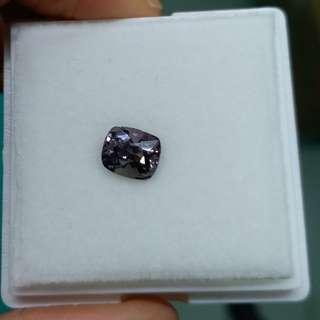 2.115卡金屬灰色尖晶石裸石