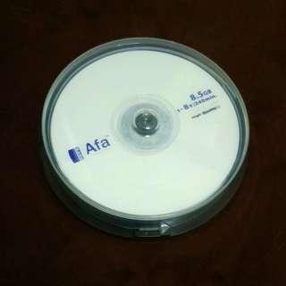 🚚 Afa DVD+R DL/8.5G 10片裝