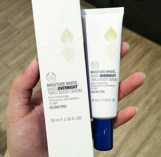 Shiso overnight triple boost serum