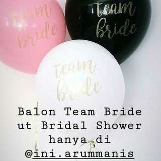 BRIDAL SHOWER TABLE DECOR ONLY 80.000/PAX!*