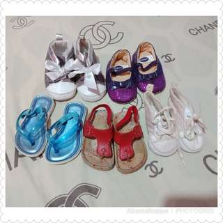 Baby Shoes (3-6 months)Take All for 150 only!