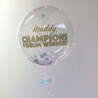 Personalised 18'' Helium Led Balloon