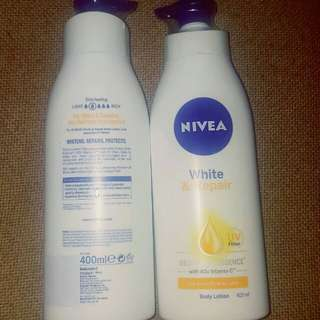 Body Lotion with UV filter