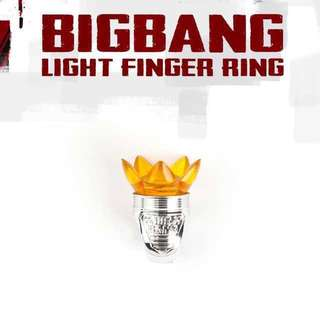 BIGBANG Light Finger Ring