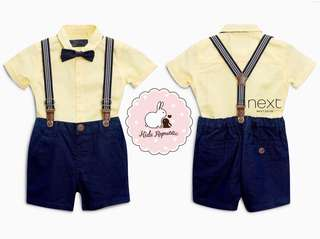 KIDS/ BABY - shirt/ bow tie set