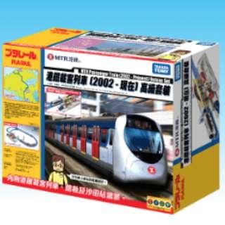 預訂TAKARA TOMY 2018 年版 PLARAIL 港東鐵mtr載客列車『2002-現在』高級路軌套裝玩具火車mtr set-east rail line passenger train