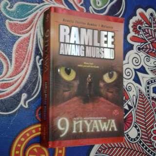 Novel 9 Nyawa - Ramlee Awang Murshid