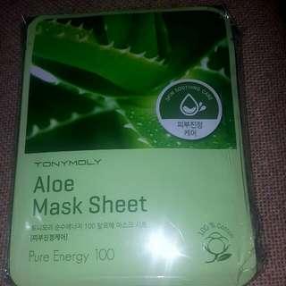 Aloe mask sheet